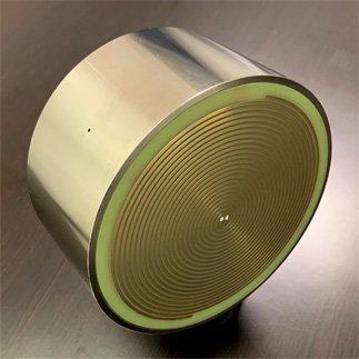 800MHz–12GHz Cavity Backed Spiral Antenna
