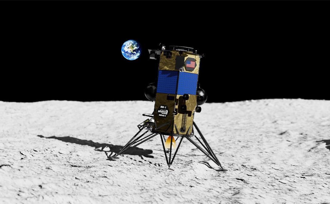 Intuitive Machines NovaC lunar lander